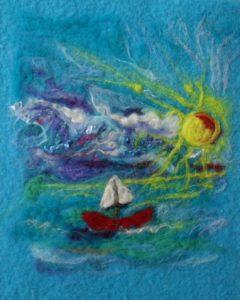 All at Sea by Amanda Pengelly