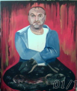 another self-portrait by Paul Ashton