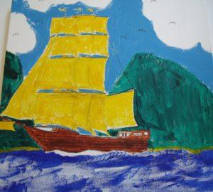 Yellow Sails by Tony Thomas