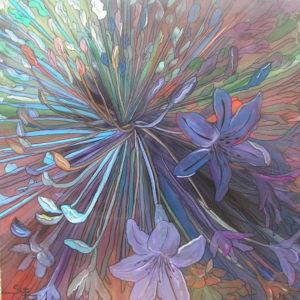 Blue Flower by susy casillas