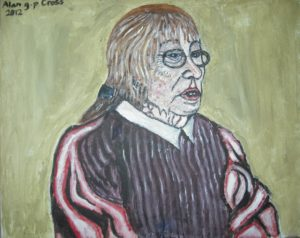 Artists Mother by Alan Cross