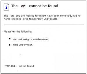 Art Not Found by Dolly Sen