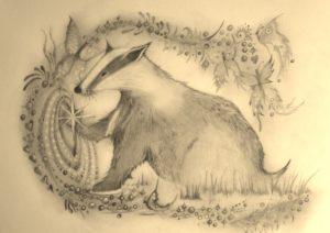 Magical Badger by rachel henderson