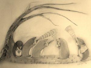 Dowsing Moles by rachel henderson