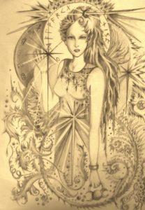 Celtic Goddess by rachel henderson