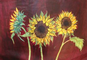 Sunflowers by Andrew Saggers