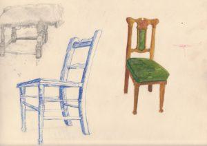 Three Seats by blodwyn jones