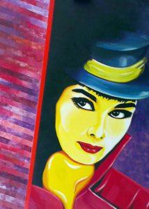 Audrey Hepburn by john anderson
