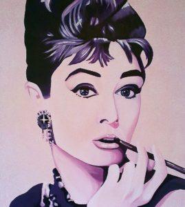 Audrey Hepburn. by john anderson