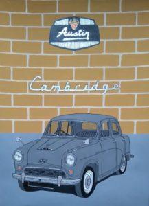 AUSTIN A40 CAMBRIDGE by PAUL COCKRAM