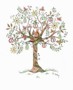Autumn Tree by Sue Trickey