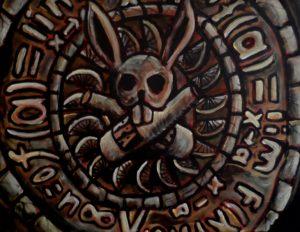 Aztec Homage by Paul  Brown