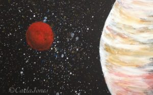 Spaced Out by Carla Jones