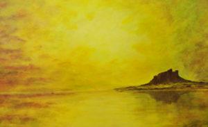 Bamburgh Sunset by Thomas deBetham