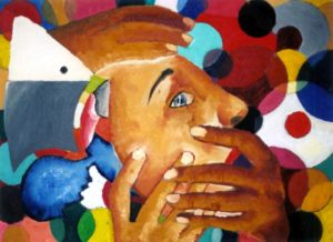 Colourful fear by Ivana Vavreckova