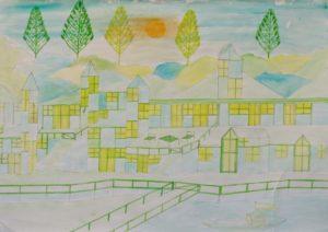 Sunset House by Barrington G