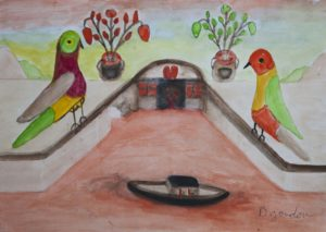 Bird Guardians by Barrington G