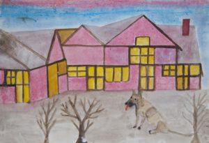 Fox Dog by Barrington G