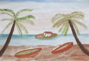 The Beach by Barrington G