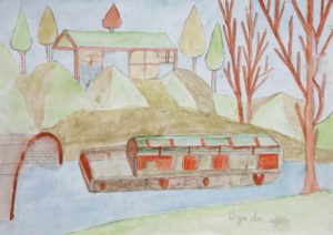 The Canal by Barrington G