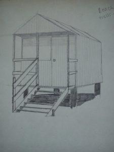 Beach Hut by Macktee