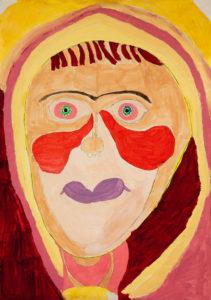 Becky's portrait by Becky Smith