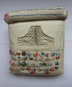 "typewriter by detail of ""textiles hair dressers"""