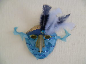 Bird mask by Carole Rust