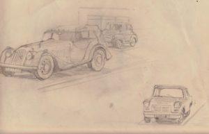 Three cars by blodwyn jones