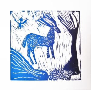 Blue Deer by Rachel Summers