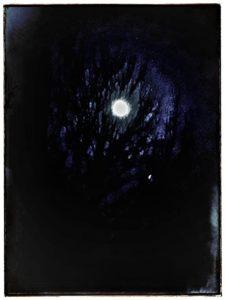 Blue moon by VJ Francis