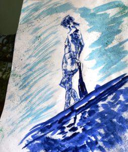 Blue Nude by blodwyn jones