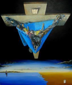 Blue Saviour by Kevin Stewart