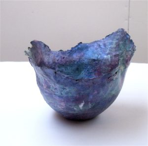 Blue Bowl by Alison Leeper