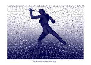 Blue Widow by RIKINI