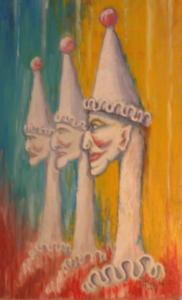 Hanged Clown by Bob Weller