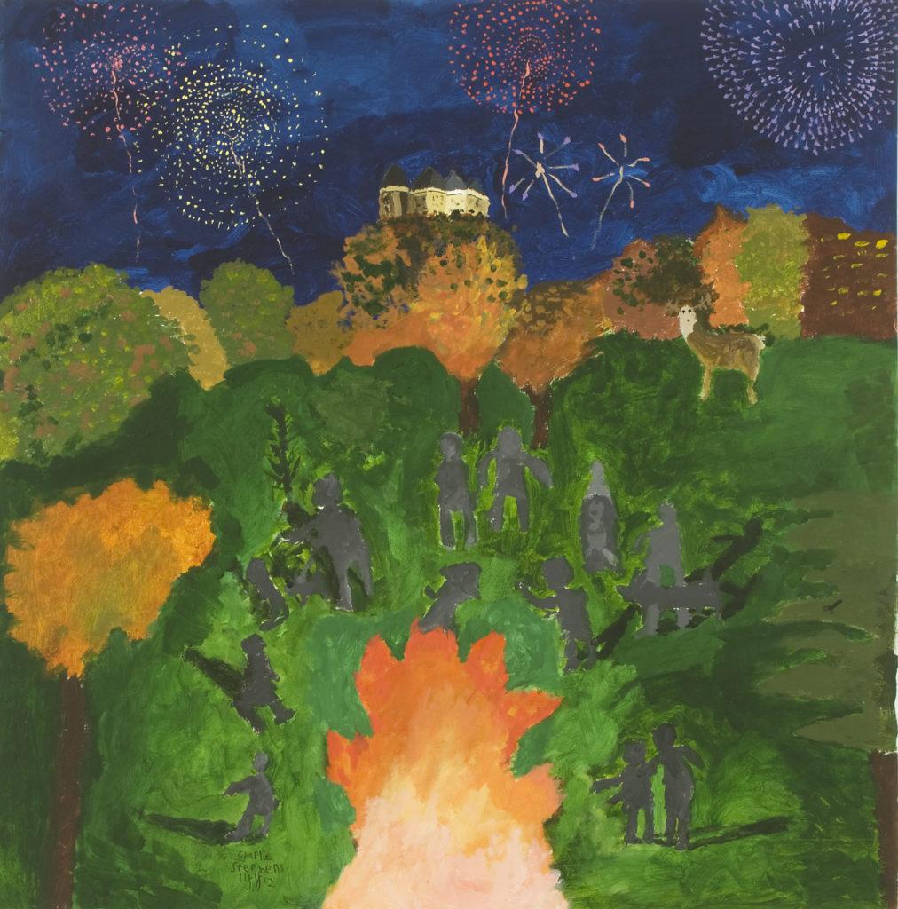 11087 || 736 || Autumn Bonfire || £450 || NULL