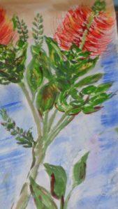 Bottle Brush Plant by blodwyn jones