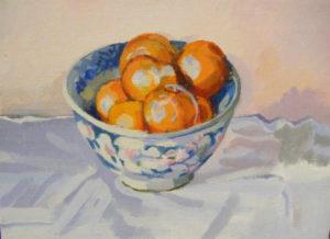 Bowl of Oranges by Ann Appleby
