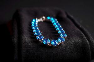 Blue bracelett by LouiseTopp