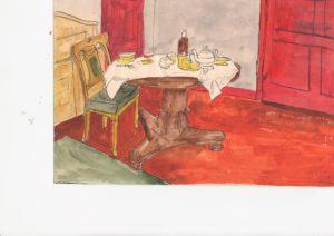 awaiting breakfast by blodwyn jones