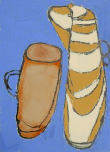 Jug and Cup by Brenda Carr