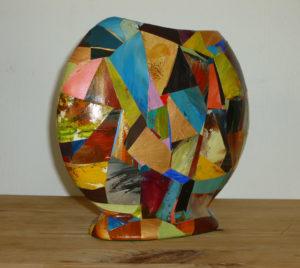 Brown Vase by Pauline Alexander