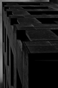 Building in Charcoal 2 by Peter Kyte