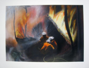 Bush Fire Angels by John Slater