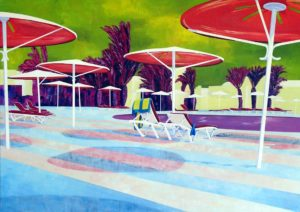 By the Pool by john anderson