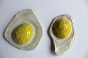 Two Fried Eggs by Cameron Morgan