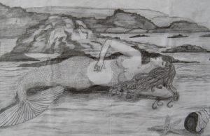 Mermaid by Caroline Ruddick