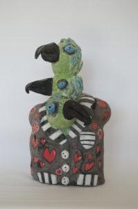 A suit of parrots by Caroline Wells