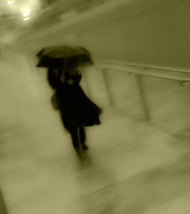 Caught in Downpour 1 by Peter Kyte